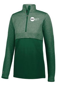Holloway Ladies 3D Regulate Pullover (Green)