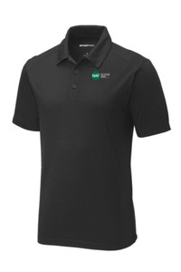Tri-Blend Wicking Polo (Black)