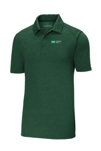 Tri-Blend Wicking Polo (Green)