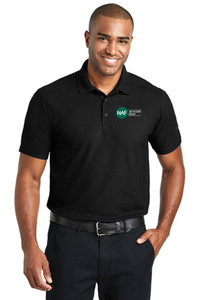 EZPerformance Pique Polo (Black)