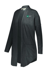 Ladies Sophomore Cardigan (Black)