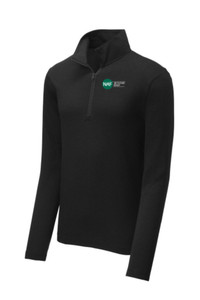 Tri-Blend Wicking Pullover (Black)