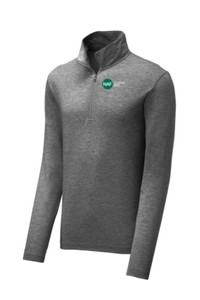 Tri-Blend Wicking Pullover (Gray)