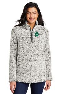 Cozy 1/4 Zip Fleece (Grey Heather)