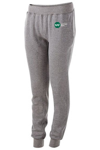 Ladies 60/40 Fleece Jogger (Grey)
