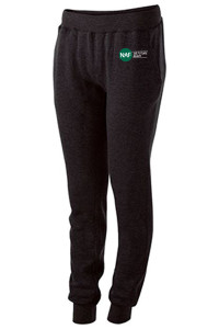 Ladies 60/40 Fleece Jogger (Black)