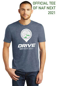 Official NAF Next 2021 Tee (Navy Frost)