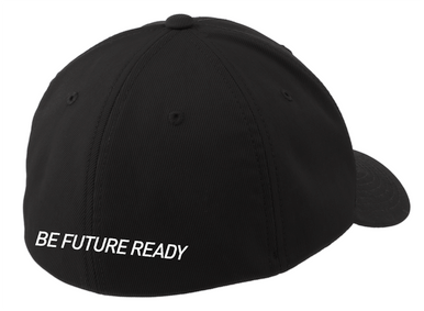 Embroidered Flexfit Fitted Hat (BE FUTURE READY on BACK)