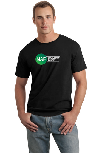 Adult SoftStyle Black T-shirt