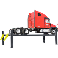 BENDPAK HDS-35X 35,000-lb. Capacity Extended-Length Four-Post Truck Lift