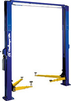 CHALLENGER  Lifts 10,000 lb capacity Two Post Lift, Blue