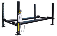 CARLIFT CL-4-8K-DX BASIC STORAGE 8K LB 4 POST PARKING LIFT INCLUDES POLY CASTERS, DRIP TRAYS, JACK TRAY