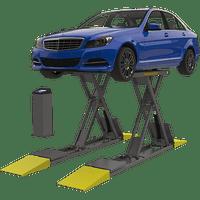 BENDPAK SP-7XL 7,000-lb. Capacity, Scissors, Frame Engaging- BLUE