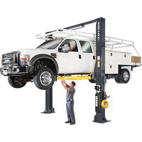 BENDPAK XPR-15C 15,000 Lb. Capacity, Clearfloor, Standard Arms Two Post Lift ( FREE FRAME CRADLE PADS )