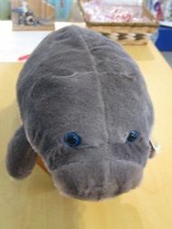 "17"" Plush Manatee by The Petting Zoo"
