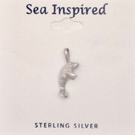Sterling Silver Manatee Pendant