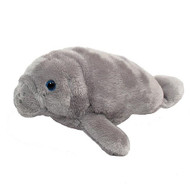 8 inch Soft Grey Manatee