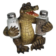 Salt & Pepper Shaker Set -Alligator