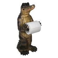 TP Holder -Bathroom Humor - Alligator
