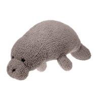 Jumbo Scruffy Stuffed Manatee