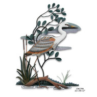 Marshland Blue Heron Wall Art