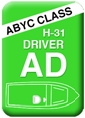 Boat Seats - Class A - Driver