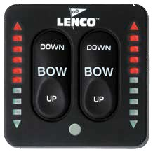 Lenco Trim Tab Switch