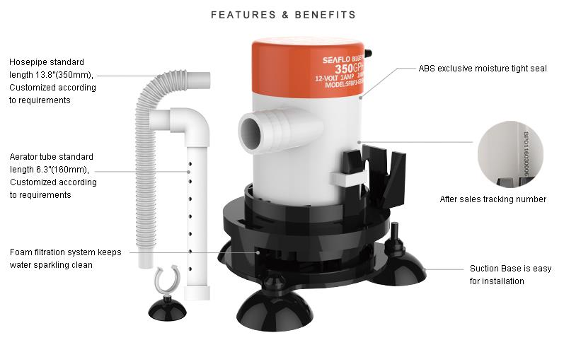 Bait Tank Pump Aerator