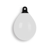 Dan-Fender Buoy/Fender - White, Inflatable, Heavy Duty