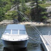 Dock Edge Mooring Whips - Premium (Pair)