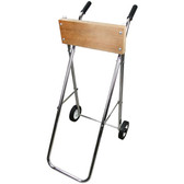 Folding outboard motor trolley electroplated steel