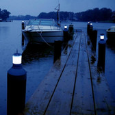 Piling Cap Light - Solar LED