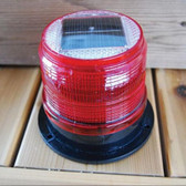 Dock Edge Red Marker Light - Solar LED