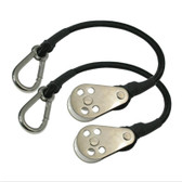 Taco Shockcord with Snap Hook Block (Pair)