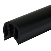 PVC Gunwale Moulding - 43mm, Black