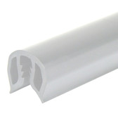 PVC Gunwale Moulding - 43mm, White