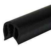 PVC Gunwale Moulding - 35mm, Black
