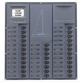 BEP 'Contour Cruiser' Circuit Breaker Panel - Yacht, 32 Circuits