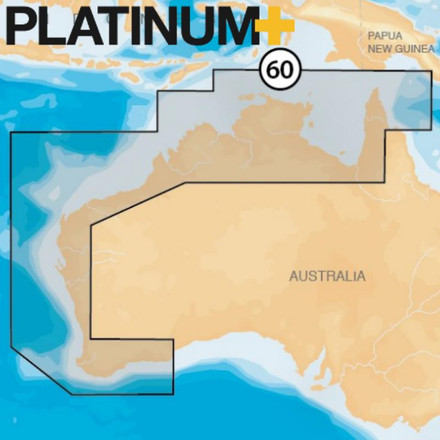 Navionics Platinum+ XL3 Chart -  Australia North & West
