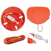 Lifebuoy Cabinet with Cover & Rope