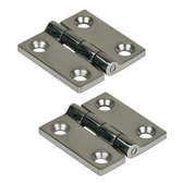 Stainless Steel Square Hinges