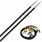 Outrigger Poles - Heavy Glass - 28mm, 13ft (Pair)