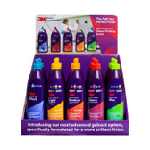 3M Counter Display Wash Polish Wax