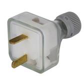 Low volt plug socket