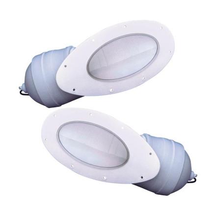 Barnegat Light Bow Light - Pronounced Flare (Pair)