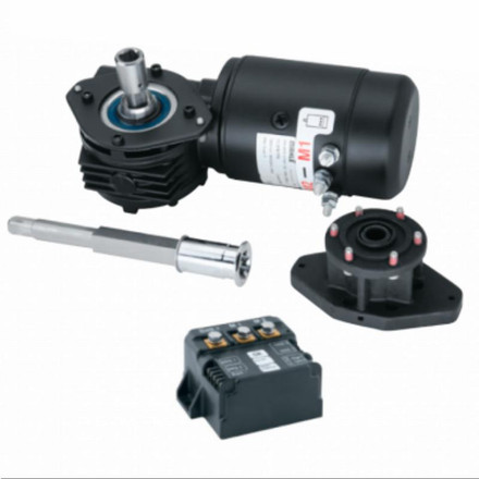 Harken Manual to Electric Winch Conversion Kit - Radial 46