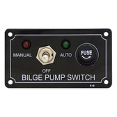 Switch panel bilge pump