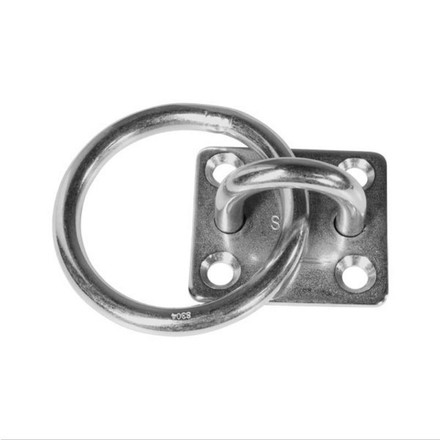 BLA Pad Eye with Ring - Stainless Steel - 6mm Thickness