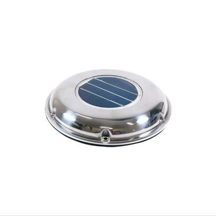 Solar Exhaust Vent - Economy - Stainless Steel