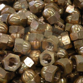 Silicon Bronze Acorn Nuts - UNC Thread